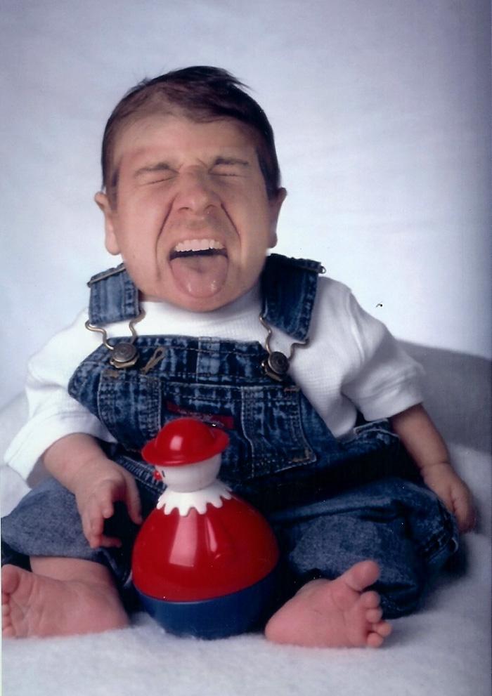 Papa weint