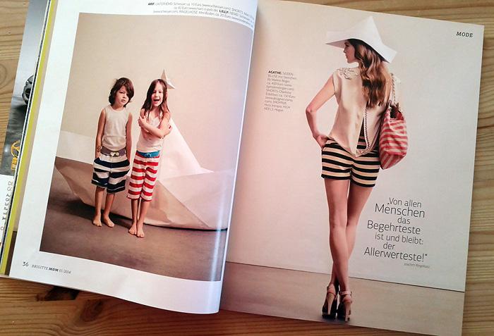 brigitte mom Mode Fashion Seite für Mütter und Kinder