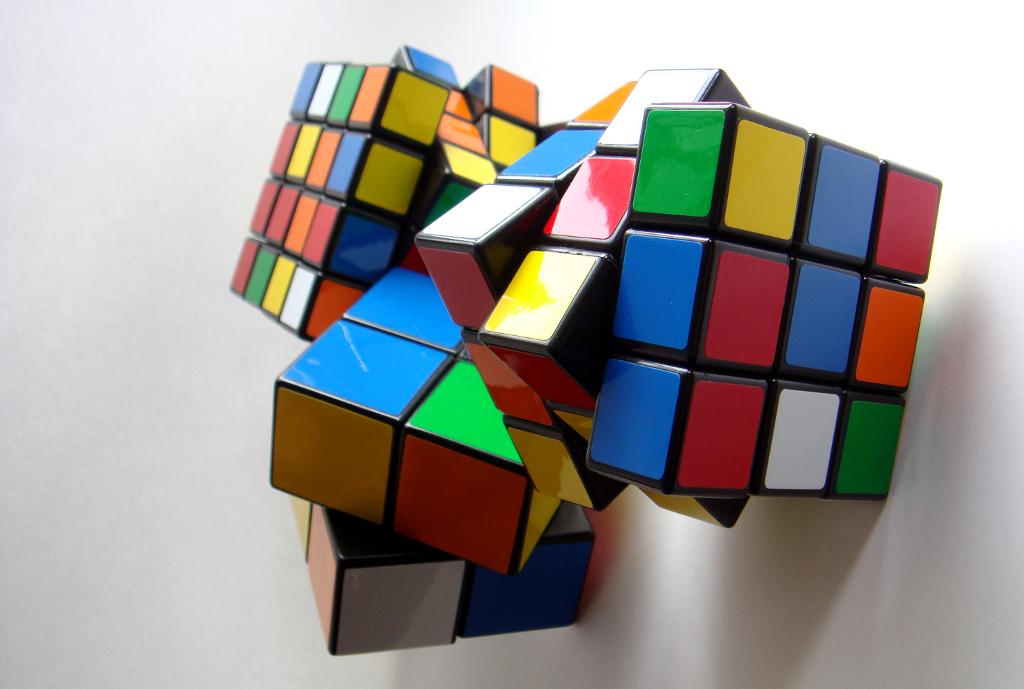 Rubik´s Cube Zauberwürfel Lösung