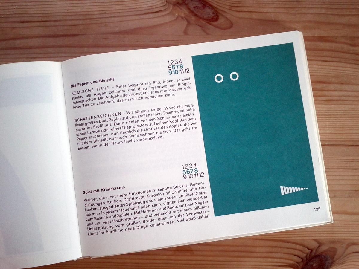 Das große Buch der Kinderspiele von Emanuela Bompiani 1971