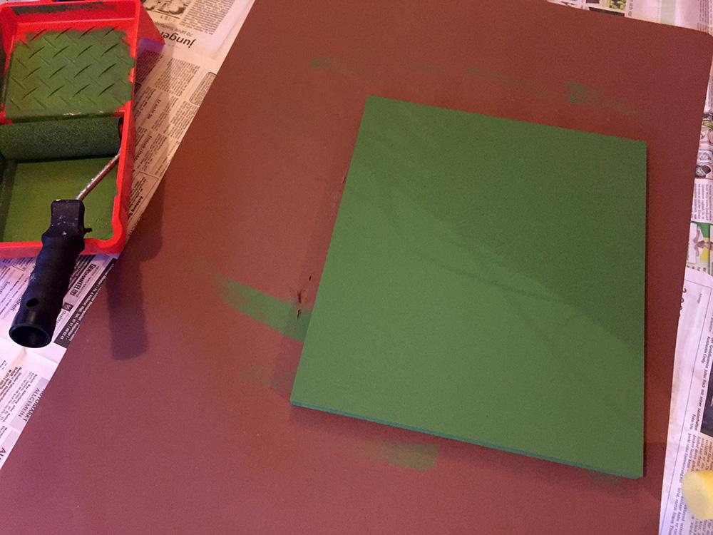 minions schablone stencil farbe gruen